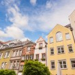 Houses in Dusseldorf Altstadt, the Old Town City Center — Stock Photo #46477153