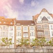 Houses in Dusseldorf Altstadt, the Old Town City Center — Stock Photo #46477335