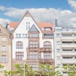 Houses in Dusseldorf Altstadt, the Old Town City Center — Stock Photo #46477575