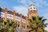 Bull's Square Monumental in Barcelona — Stock Photo