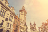 Our Lady Before Tyn Church in Prague — Stock Photo