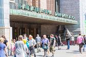 HELSINKI, FINLAND - JUNE 28, 2013: People in Helsinki — Stockfoto