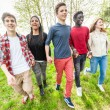 Teenagers in Park — Stock Photo #47254293