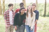 Uśmiechający się nastolatków — Zdjęcie stockowe