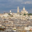 Panoramic View of Paris from Arc de Triomphe — Stock Photo #49230027