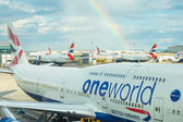 LONDON, UNITED KINGDOM - AUGUST 19, 2014: British Airways Boeing — Stock Photo