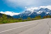 Pass in den alpen — Stockfoto