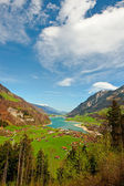 Lake in Switzerland — Stock Photo