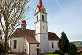 Igreja de suíço — Fotografia Stock