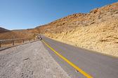 Road in Negev — Stock Photo