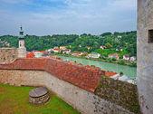 River Salzach — Stock Photo