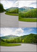 Paved Roads — Stock Photo