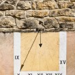 Stock Photo: Sundial