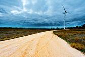 Windkraftanlagen — Stockfoto