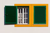 Green Shutter — Stock Photo