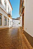 Straat in faro — Stockfoto