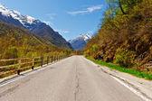 Alpes nevados — Foto de Stock