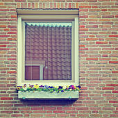 Brick Facade — Stock Photo