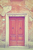 Italian Door — Stock Photo