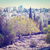 Cemetery in Jerusalem — Stock Photo
