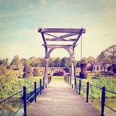 Drawbridge — Stock Photo