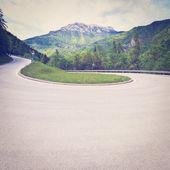 Zpevněné silnice — Stock fotografie