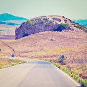 曲がりくねった道 — ストック写真