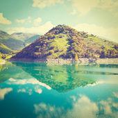 Lake in Italy — Stock Photo