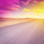 асфальтовая дорога — Стоковое фото