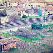 Spanska staden — Stockfoto