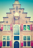 Flemish Gable — Foto Stock
