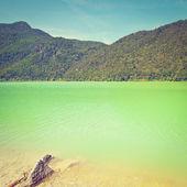 Lake Saalachsee — Stock Photo