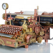 Steampunk Typewriter. — Stock Photo #12841813