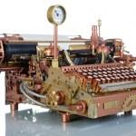 Steampunk Typewriter. — Stock Photo #12841853