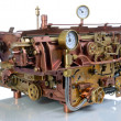 Постер, плакат: The steampunk mechanism