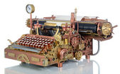 Steampunk Typewriter. — Foto Stock