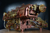 The steampunk mechanism. — Stock Photo