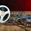 Reel of tape — Stock Photo