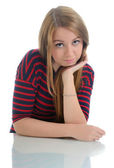 Young Woman Portrait. — Stock Photo