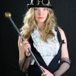 Steampunk Female. — Stock Photo