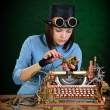 Typewriter repair. — Stock Photo