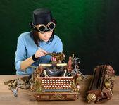 Typewriter repair. — Stock Photo