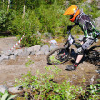 Biker downhill — Stock Photo #30588757
