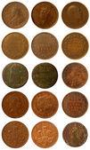 старые монеты — Стоковое фото