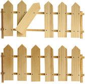 Two fences — Stock Photo