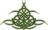 Celtic decorative pattern — Stock Vector