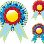 Award ribbon — Stock Vector #7458298