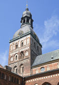Riga cathedral — 图库照片
