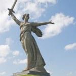 Motherland calls in Volgograd, Russia — Stock Photo #2404630
