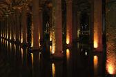 伊斯坦堡大教堂蓄水池 — 图库照片